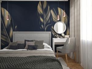 Квартира с синим