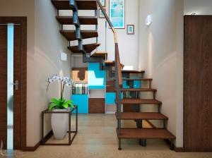 Дизайн интерьера лестницы