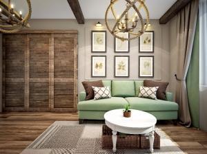 Квартира с элементами кантри-стиля