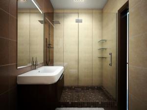 ванная комната гостиной современный стиль квартира