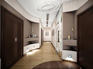 интерьер прихожей современный стиль квартира