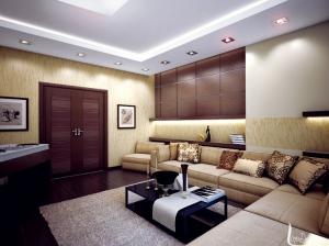 гостиная интерьер современный стиль квартира