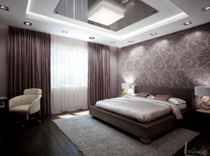 интерьер спальни современный стиль квартира