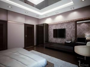 спальня интерьер современный стиль квартира