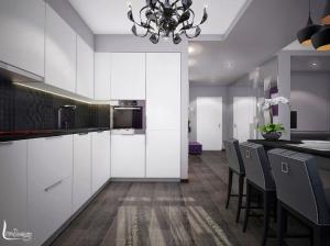 Интерьер кухни в в современном стиле