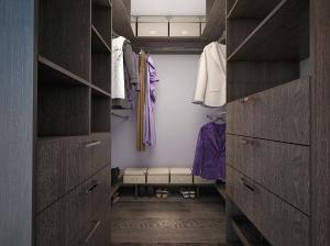 Интерьер гардероба