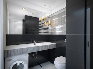 Дизайн интерьера ванная комнаты в современном стиле