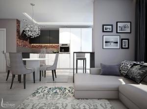 Интерьер квартиры современная классика