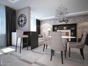 Интерьер квартиры в современной классике