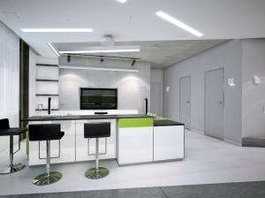 Кухня-гостиная современный стиль