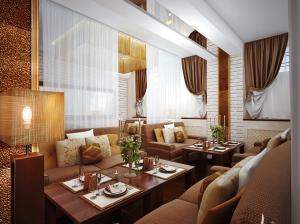 дизайн интерьера vip зоны ресторана