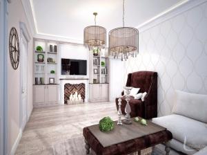 Интерьер квартиры в романтическом стиле