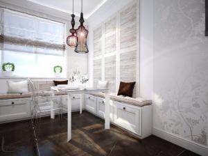 Кухня в романтическом стиле