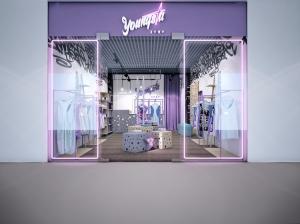 Интерьер магазина для девушек