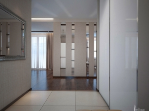 современный интерьер прихожая квартира
