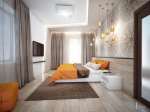 интерьер спальни современная квартира