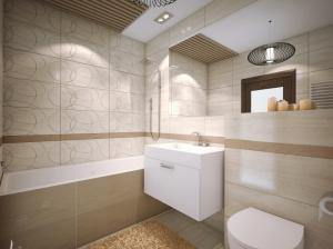 интерьер ванной современный стиль квартира