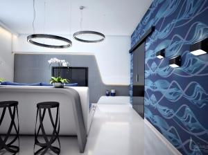 Квартира в футуристическом стиле