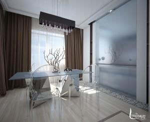 пример дизайна интерьера гостиной