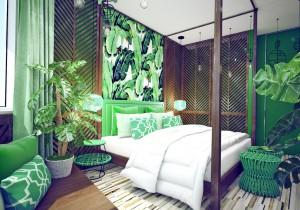 интерьер в тропическом стиле