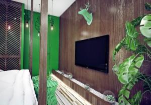 интерьер в тропическом стиле1